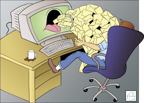 چگونه از اسپم شدن ایمیلها جلوگیری کنیم؟