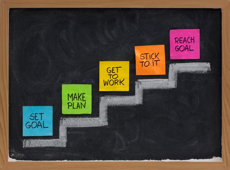 نوشتن و به اشتراک گذاری اهدافتان